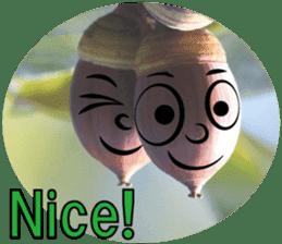 Kind nature sticker #13720158