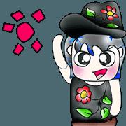 สติ๊กเกอร์ไลน์ Hi! My name is Osamu.^__^