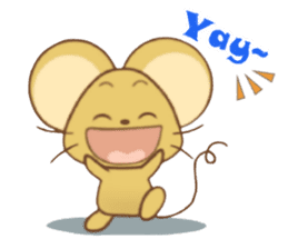Perry Mouse sticker #13734096