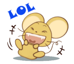 Perry Mouse sticker #13734102
