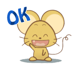 Perry Mouse sticker #13734104