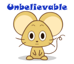 Perry Mouse sticker #13734106