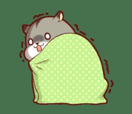 Fluffy hamster girl sticker #13735151