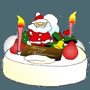 สติ๊กเกอร์ไลน์ Fun Christmas cute stickers