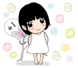The little Angel and the little Devil 1 sticker #13737939