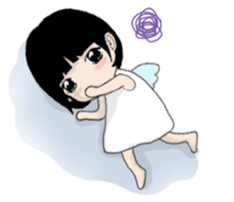 The little Angel and the little Devil 1 sticker #13737960