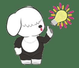 JULIE the old sheepdog 3 sticker #13738929