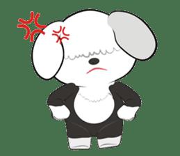 JULIE the old sheepdog 3 sticker #13738931
