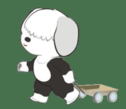 JULIE the old sheepdog 3 sticker #13738933