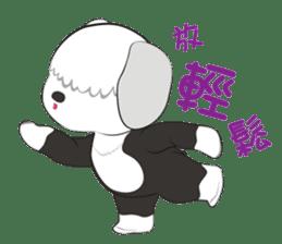 JULIE the old sheepdog 3 sticker #13738938