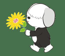 JULIE the old sheepdog 3 sticker #13738943