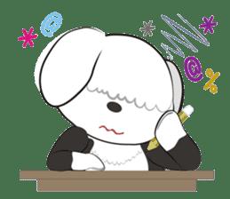 JULIE the old sheepdog 3 sticker #13738948