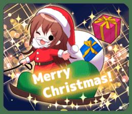 Cheerful moe girl, Meitan! -Winter [ENG] sticker #13747199