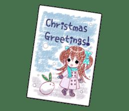 Cheerful moe girl, Meitan! -Winter [ENG] sticker #13747201