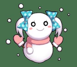 Cheerful moe girl, Meitan! -Winter [ENG] sticker #13747205