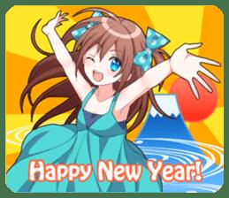 Cheerful moe girl, Meitan! -Winter [ENG] sticker #13747220