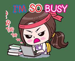 Boobib Office Girl sticker #13747455
