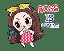 Boobib Office Girl sticker #13747457