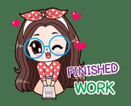 Boobib Office Girl sticker #13747476