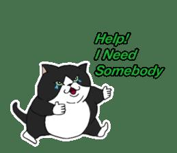 Fatcat Talk sticker #13755826