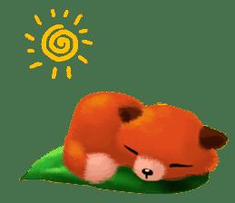Soft Foxes sticker #13756520