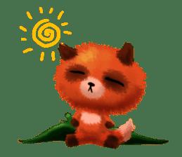 Soft Foxes sticker #13756523