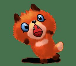 Soft Foxes sticker #13756524