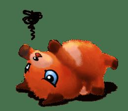Soft Foxes sticker #13756526