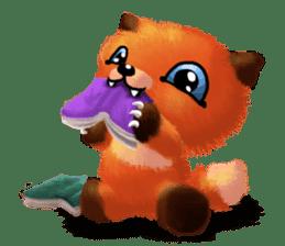 Soft Foxes sticker #13756529