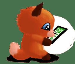 Soft Foxes sticker #13756530