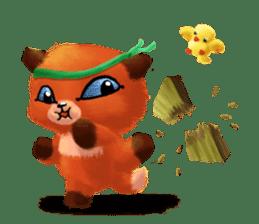 Soft Foxes sticker #13756533
