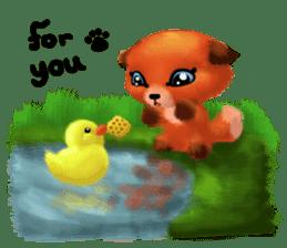 Soft Foxes sticker #13756539