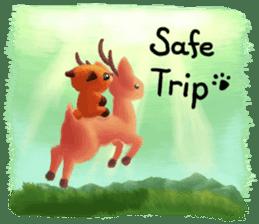 Soft Foxes sticker #13756543