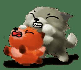 Soft Foxes sticker #13756547