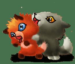 Soft Foxes sticker #13756549