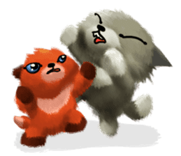 Soft Foxes sticker #13756550