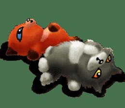 Soft Foxes sticker #13756551