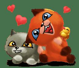 Soft Foxes sticker #13756554