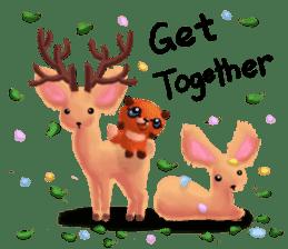 Soft Foxes sticker #13756556