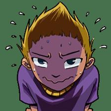 Spike Hair Boy sticker #13767056