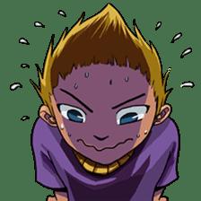 Spike Hair Boy sticker #13767057