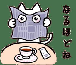 kancho-cat sticker #13769567