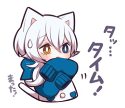 WHITE KITTEN 6 sticker #13773453