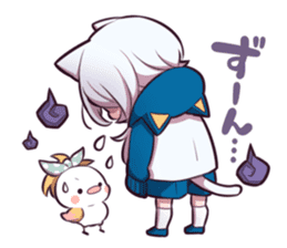 WHITE KITTEN 6 sticker #13773472