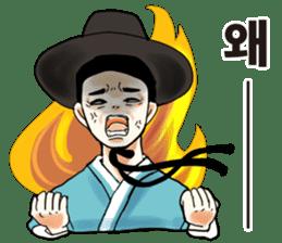 korea drama character (Korean ver.) sticker #13774406