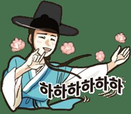 korea drama character (Korean ver.) sticker #13774414