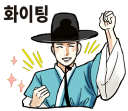 korea drama character (Korean ver.) sticker #13774418