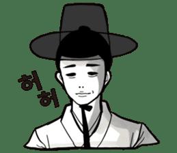 korea drama character (Korean ver.) sticker #13774424