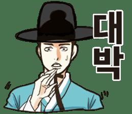 korea drama character (Korean ver.) sticker #13774427
