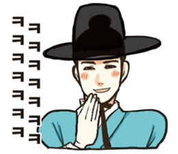 korea drama character (Korean ver.) sticker #13774430